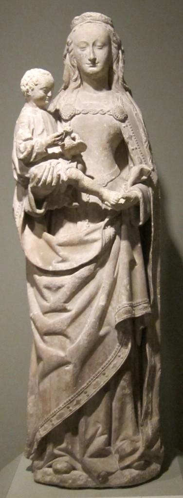 Madonna_and_Child_limestone_sculpture_c._1490_France_HAA-376x1024 Ye Shall Be as Gods : Madonna s Super Bowl Occult Satanic Ritual