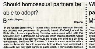 gay adoption essay conclusion