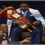 "Prosperity Pastor Eddie Long Enthroned as ""King' During Church Service"