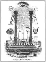 masonic-tracing-board Ye Shall Be as Gods : Madonna s Super Bowl Occult Satanic Ritual