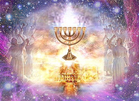 Menorah01 The Seven Spirits of God - A Biblical Study