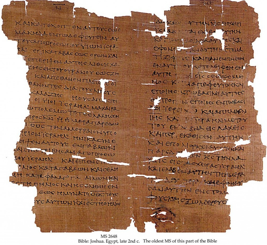 Septuagint-Manuscript-1024x941 Did Jesus Christ Really Exist? Proving Jesus Without the Bible