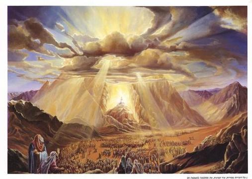 mount-sinai-God-cloud-moses Believers Will Escape God s Wrath -- Biblical Foreshadows of the Rapture