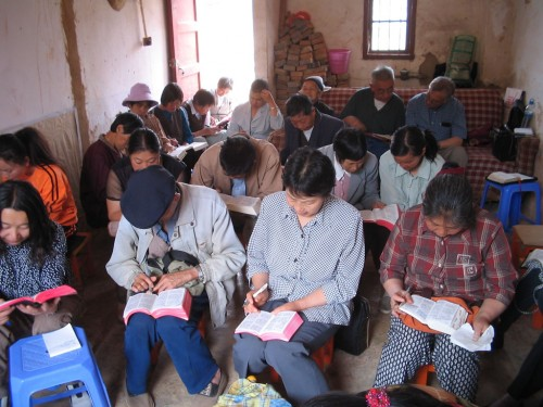 Underground house church in china | Inspirationa Bible verses and devotions.