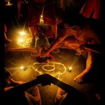 Santeria ritual | Jennifer Lopez Santeria Illuminati Satanic magic.