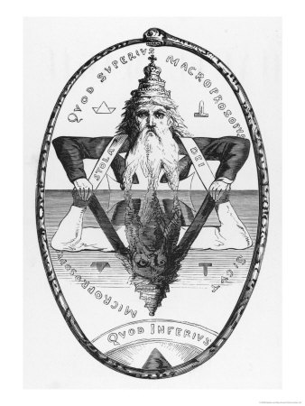 Eliphas Levi Masonic Seal As Above So Below | Illuminati Symbolism