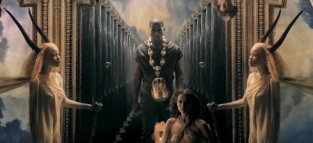 Kanye West Power Video Horned Goddess | Illuminati Satanic Symbolism