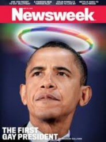 Obama First Gay President Newsweek Cover | New World Order