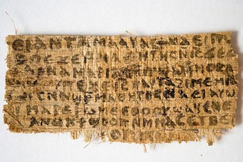 Gospel of Jesus Wife Papyrus Fragment Karen King | Was Jesus Married?