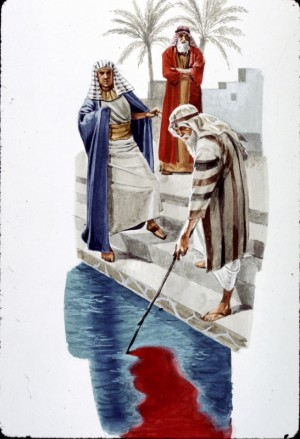 Moses Turns Water to Blood | Foreshadows of Jesus Christ