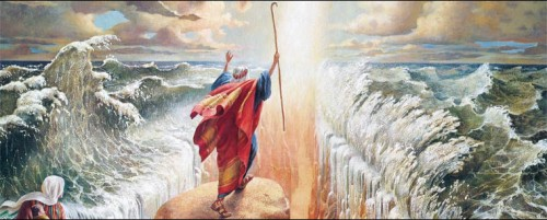 Moses Red Sea Crossing | Foreshadows of Jesus Christ in the Bible