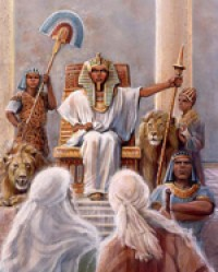 Moses and Aaron before Pharaoh | Foreshadows in the Bible