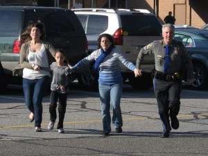 Newtown School Shooting Fleeing | Adam Lanza Why does God allow evil?