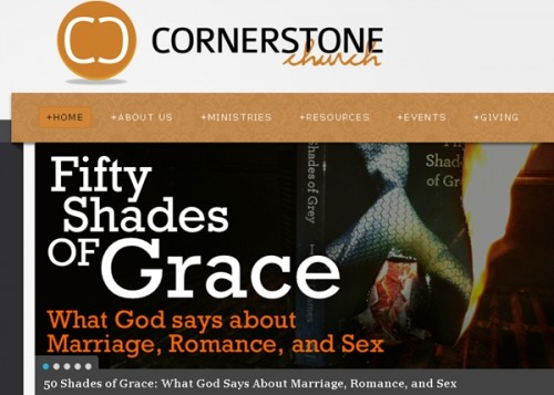 50 Shades of Grey Church Ad | A Christian Woman's review.