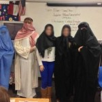Texas Public School Teacher Dresses Students In Muslim Burqas
