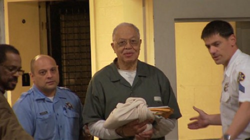 """Gosnell, smiling on his way to court, was described as """"smirking"""" through the entire trial."""