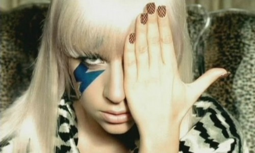 Lady gaga Lightning bolt Illuminati